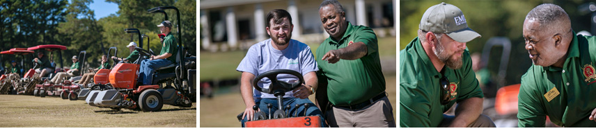 Turf Management at Lion Hills for East Mississippi Community College