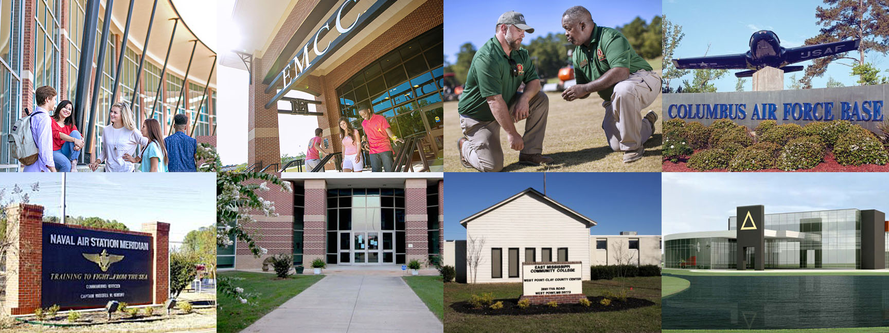 Locations at EMCC